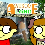 Awesome Land: The Comic Story
