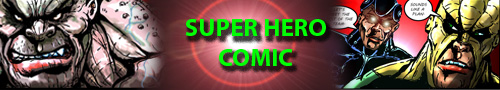 super hero comic