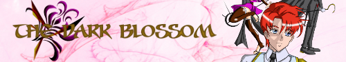 Dark Blossom Banner